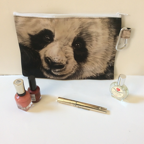 Giant Panda Pencil Case-Cosmetic Bag