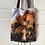 Thumbnail: Two Hugging Bears Tote Bag