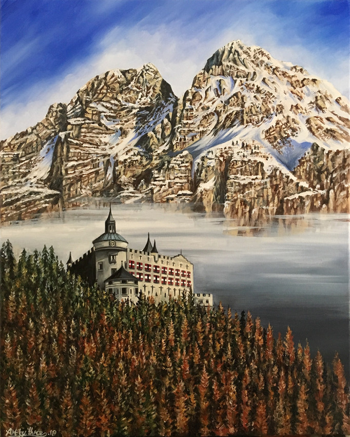 Castle in the Clouds Werfen Austria