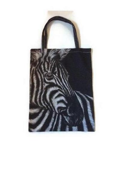 Zebra Tote Bag For Life