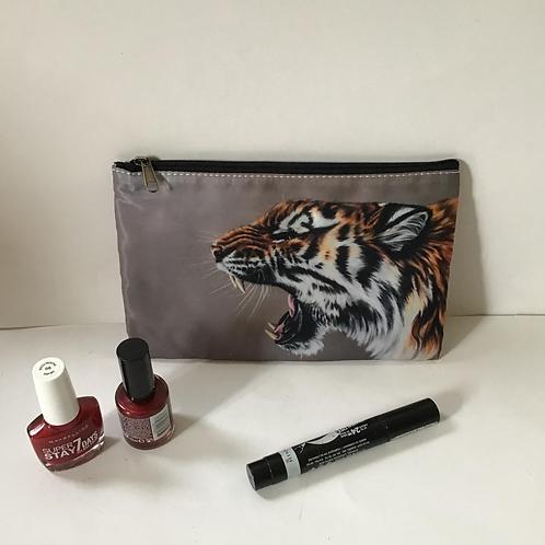 Tiger Pencil Case/ Cosmetic Bag