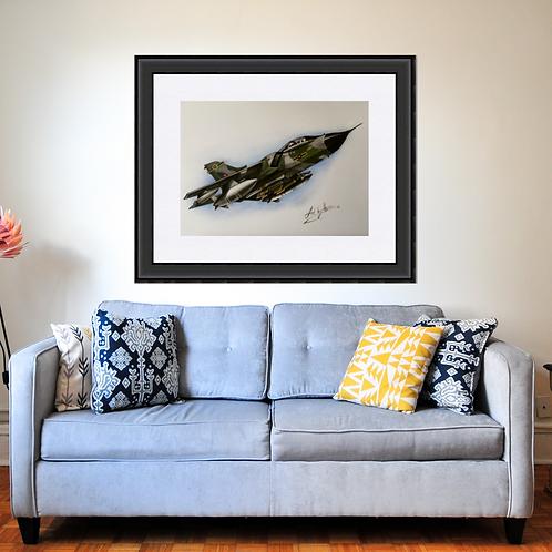Tornado Military Aircraft Art Print