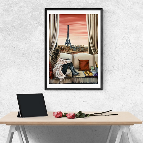 Parisian Dreams Print