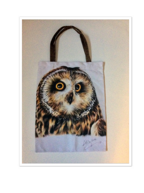 Owl Tote Bag For Life