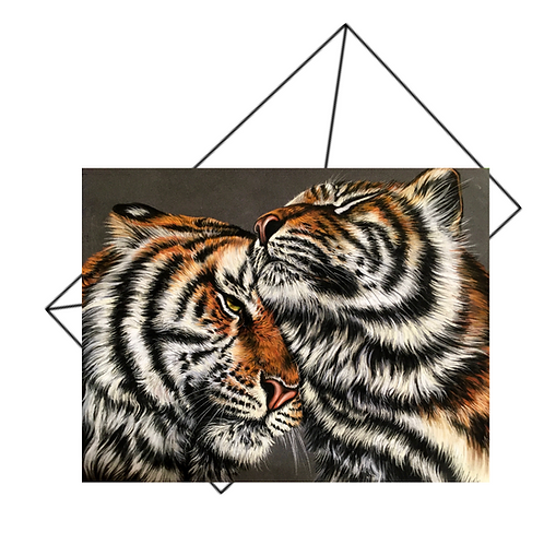 Two Tigers Card