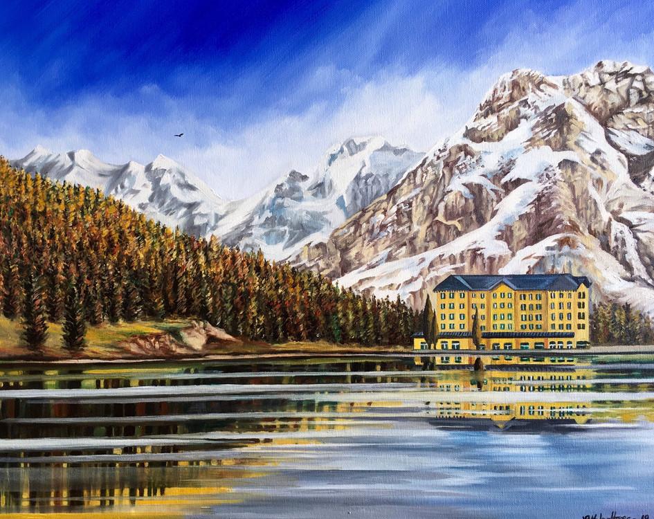 Lake Misurina Dolomites Italy