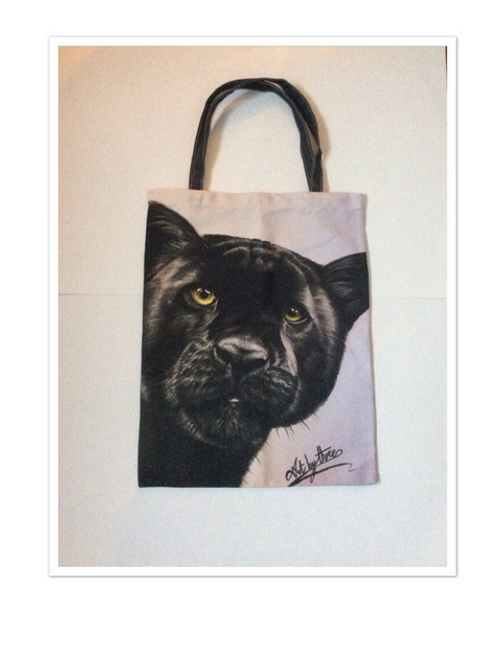 Black Panther Tote Bag For Life