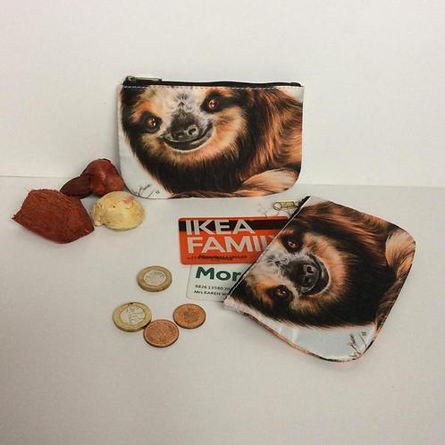 Sloth Coin Purses