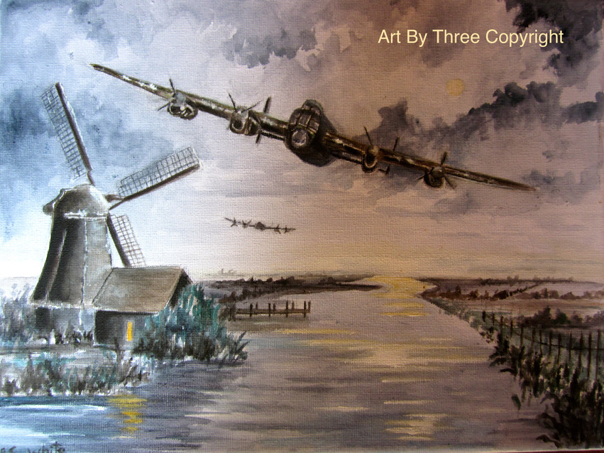 Lancaster Bomber Below Radar