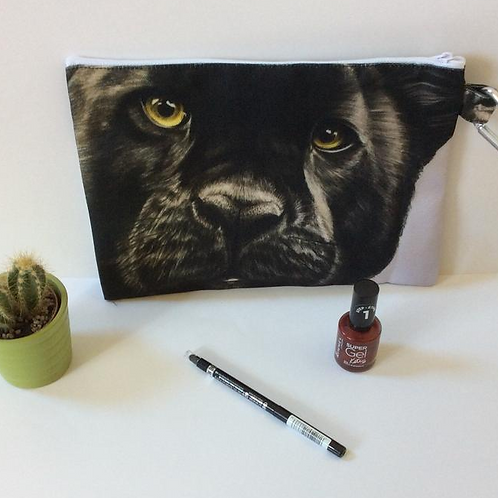 Black Panther Pencil Case-Cosmetic Bag