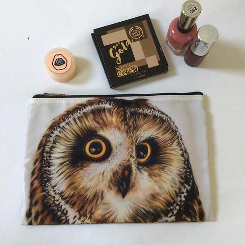 Owl Pencil Case/ Cosmetic Bag