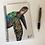 Thumbnail: Sea Turtle Lined Notebook