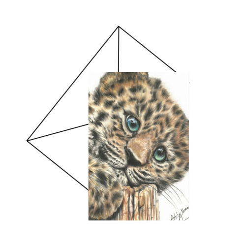 Jaguar Cub Card Blank