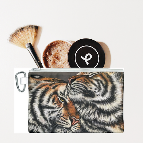 Two Tigers Pencil Case-Cosmetic Bag