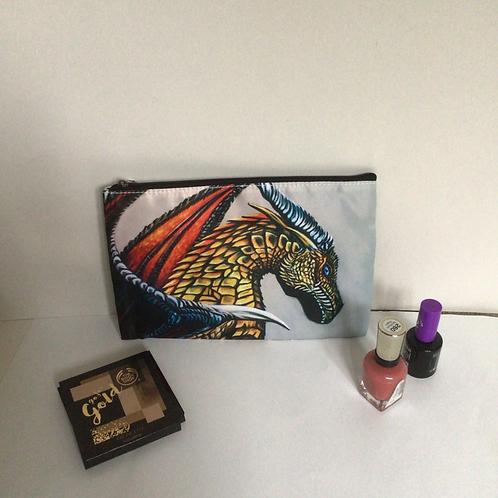 Dragon Pencil Case/ Cosmetic Bag