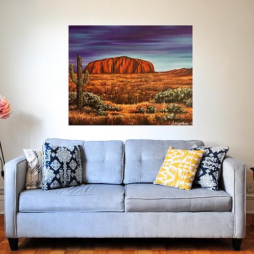 Ayres Rock Australia Fine Art Print