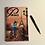 Thumbnail: Parisian Scene Romantic A5 Lined Notebook