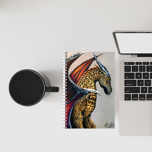 Dragon A5 Lined Notebook