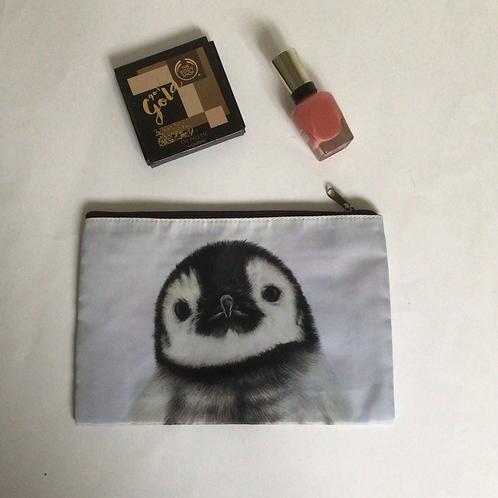 Penguin Chick Pencil Case/ Cosmetic Bag