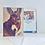 Thumbnail: Donkey Drawing Fine Art Card Blank