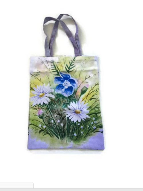 Meadow Flowers Tote Bag For Life