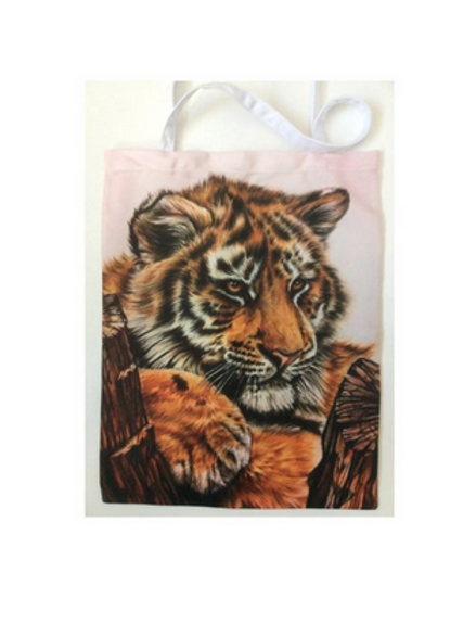 TIGER CUB TOTE Bag For Cat Lovers,