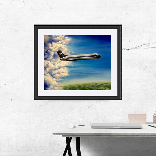 VC10 Aircraft Fine Art Print