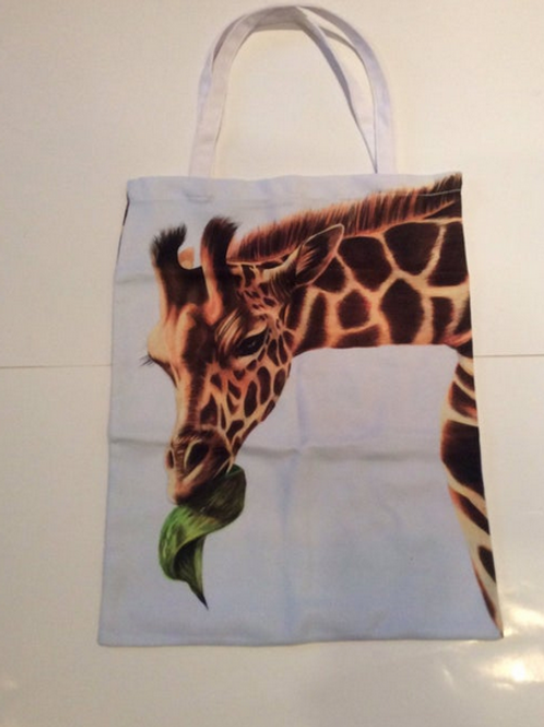 Giraffe Bag For Life