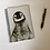 Thumbnail: Cute Penguin Chick Lined Notebook