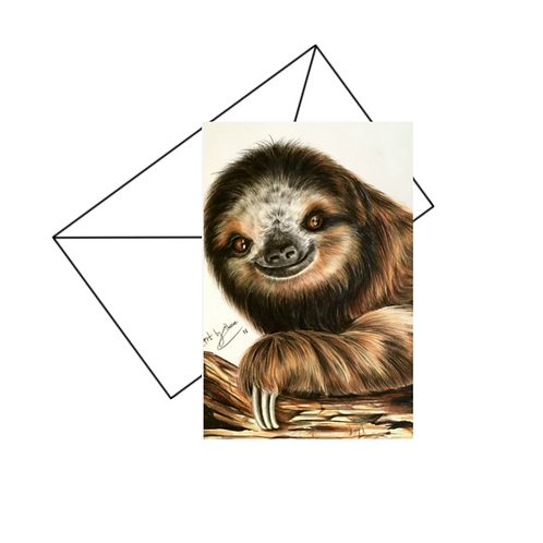Sloth Card Blank