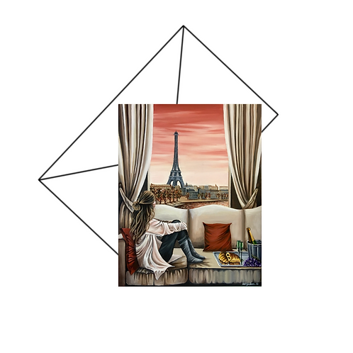 Parisian Dreams Card Blank