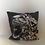 Thumbnail: Snow Leopard Illustrated Faux Suede Cushion