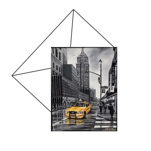 New York Card Blank