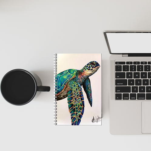 Sea Turtle Lined Notebook