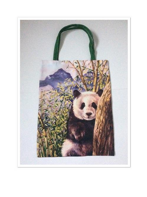 Panda Bear Tote Bag For Life
