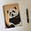 Thumbnail: Cute Panda Cub Lined Notebook