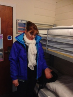 16 bunks to a room
