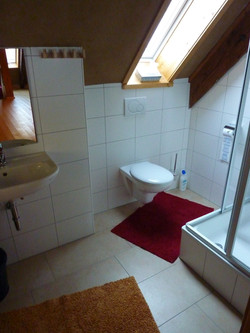 Badezimmer im Wandelhaus
