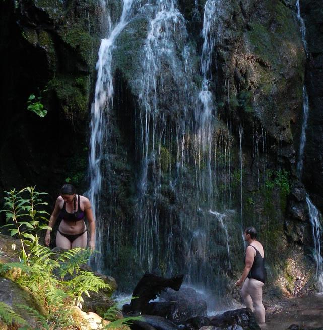 Burgbachwasserfall Elementeseminar