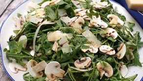 Carpaccio di funghi Champignon マッシュルームのカルパッチョ