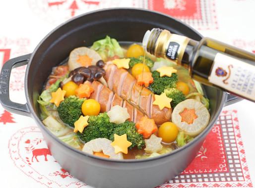 トマトオイル鍋🎄✨🍲 Stufato di verdure e Wurstel