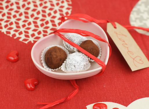 チョコトリュフのオリーブオイル入り♡Tartufi al cioccolato fondente olio di oliva