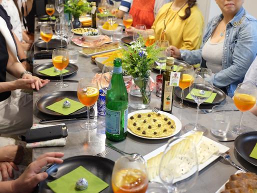 CENA UMBRA a TOKYO ②-2 ウンブリア州郷土料理の夕食会