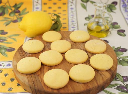オリーブオイルクッキー♡Biscotti all'olio d'oliva