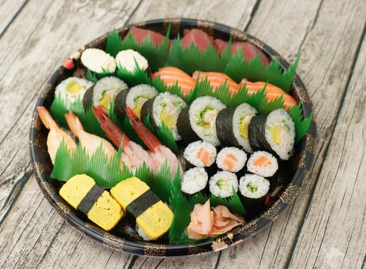 SUSHI Take-away 🍣✨