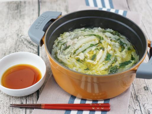 白菜と豚バラ肉の重ね鍋✨Stufato di Cavolo Cinese e maiale