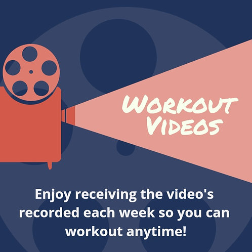 Weekly Workout Video Recordings
