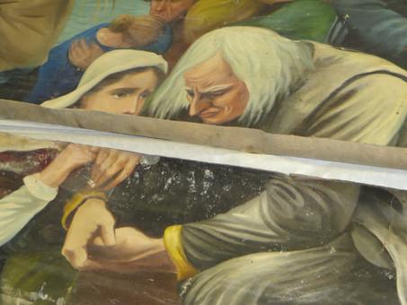 L'immense tableau d'Edouard Gautreau ira au Musée de Kent