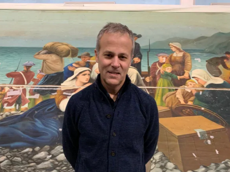 After languishing for decades, an important piece of Acadian art gets a new lease on life