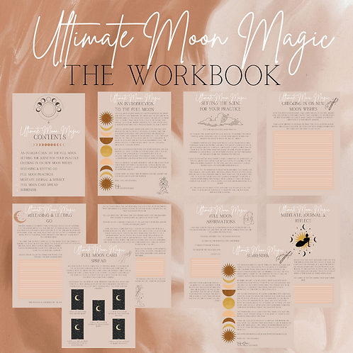 Ultimate Moon Magic - Full Moon Workbook